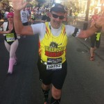 Australia's Marathon Man Trent Morrow chasing the World Record for the most marathons in twelve months; marathonman; running man; new orleans marathon