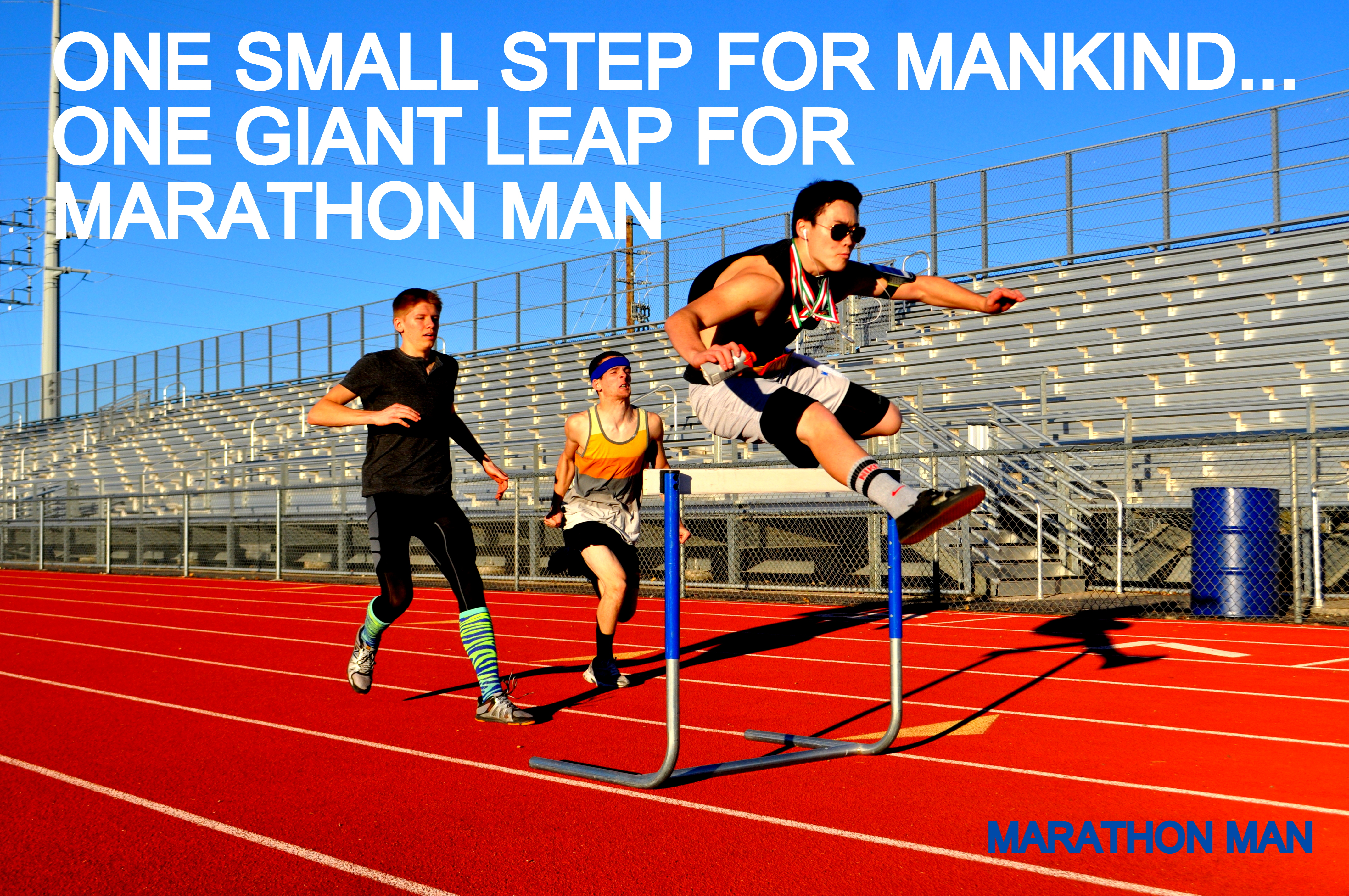 One Small Step For Mankind... One Giant Leap For Marathon Man