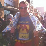 Australia's Marathon Man Trent Morrow chasing the World Record for the most marathons in twelve months; marathonman; running man; little rock marathon