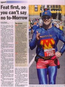 Marathon Man - Cairns Post