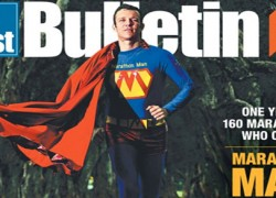 Marathon Man - Gold Coast Bulletin - 29-30 June 2013 - p1